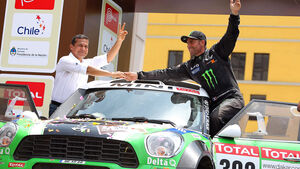 Dakar 2012 Stephane Peterhansel Mini