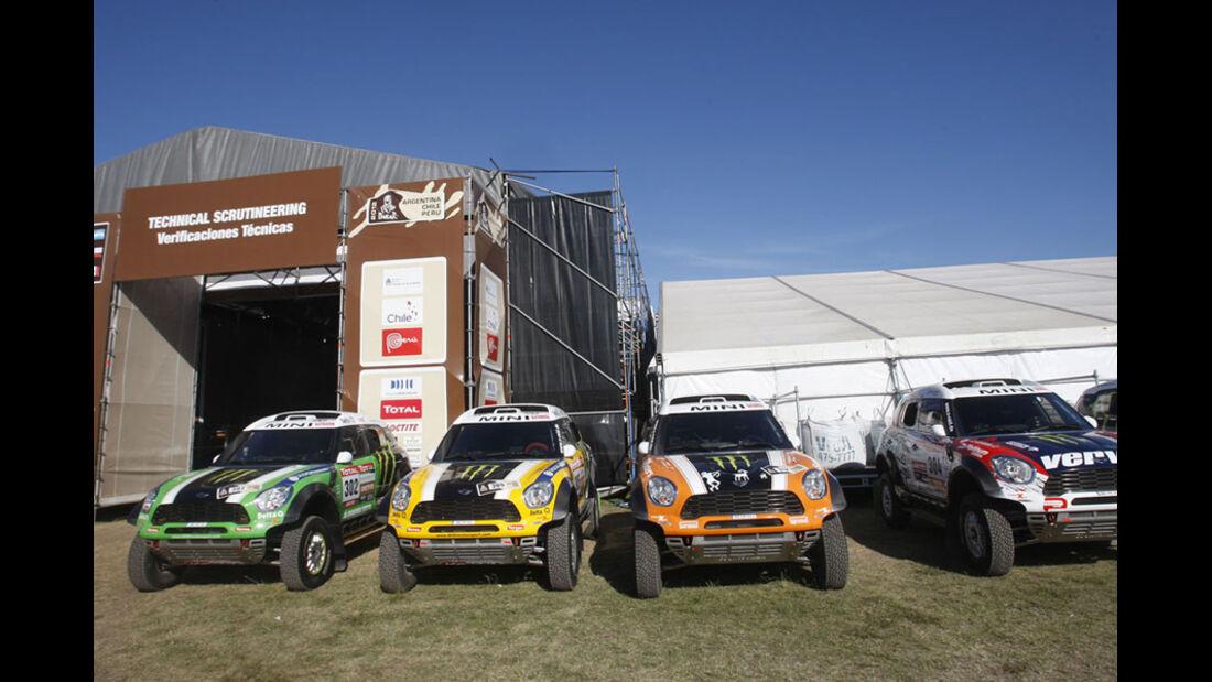 Dakar 2012 Vorbereitungen