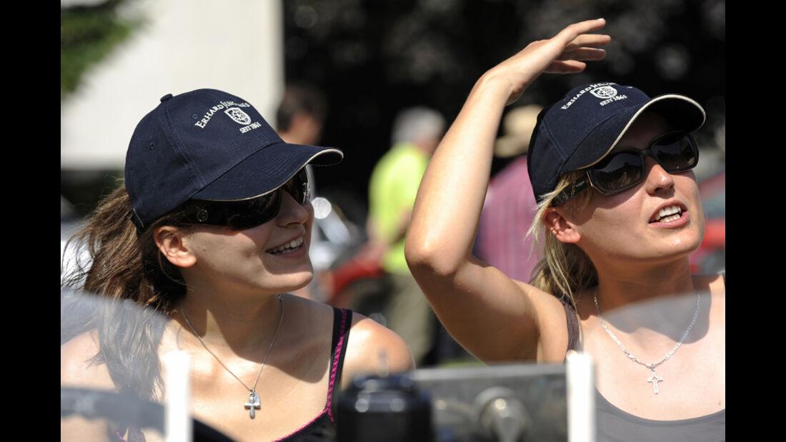 Damenteam bei der Silvretta Classic 2010