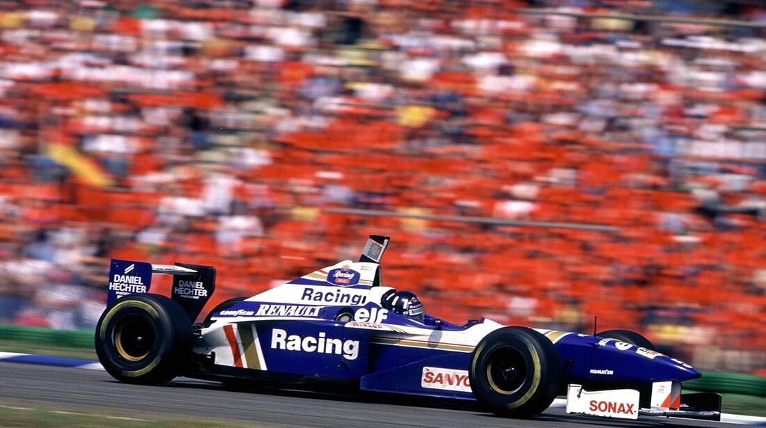 Damon Hill 1996 Williams