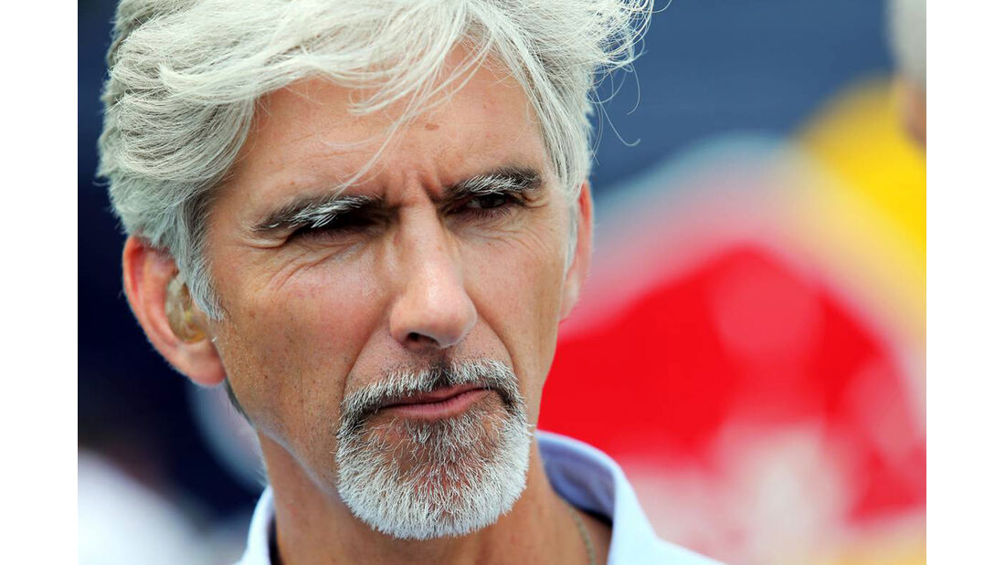 Damon Hill - Formel 1 - GP Ungarn - 26. Juli 2014