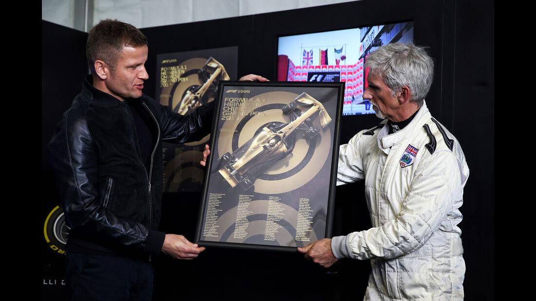 Damon Hill - GP China 2019 - Shanghai