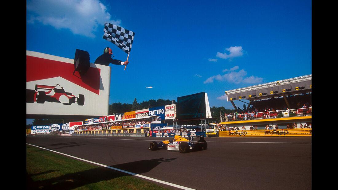 Damon Hill - GP Italien 2003