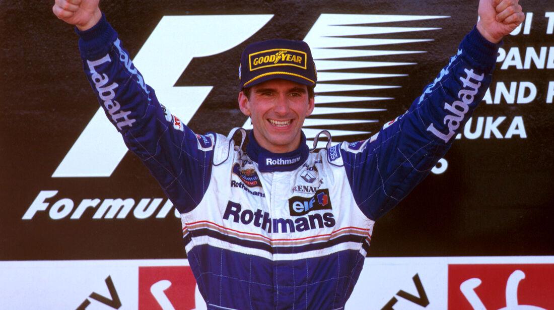 Damon Hill - GP Japan 1996