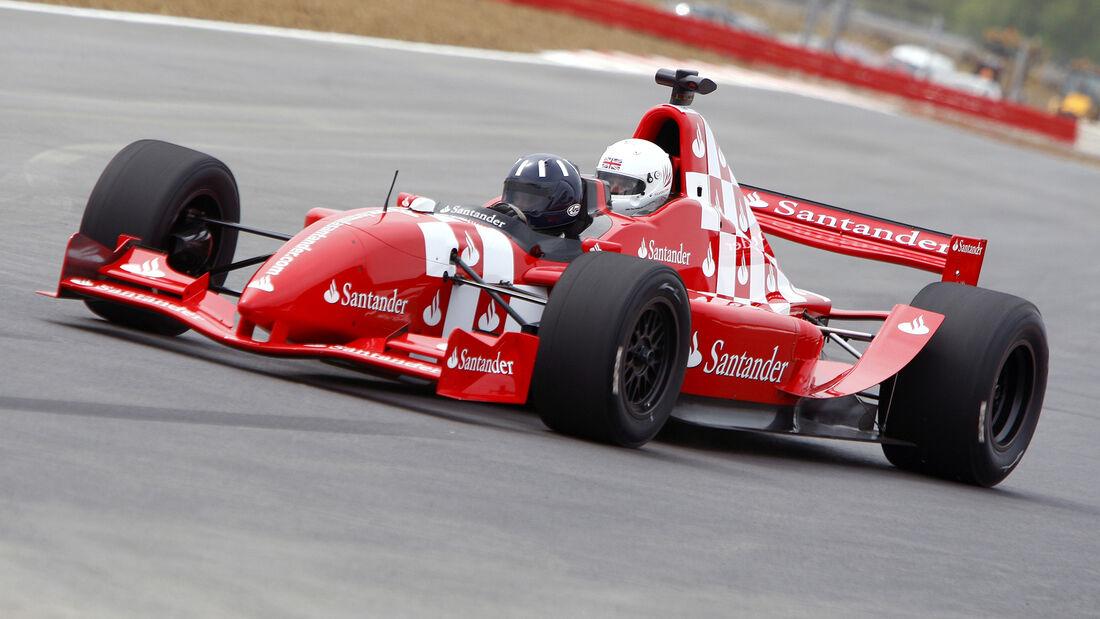 Damon Hill - GP Masters Auto - 2-Sitzer - 2010