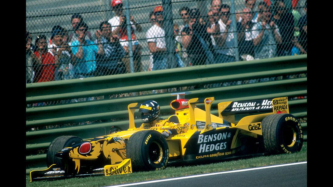 Damon Hill - Jordan Mugen Honda 198 - GP San Marino 1998