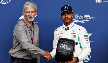 Damon Hill & Lewis Hamilton - Formel 1 - GP Belgien - Spa-Francorchamps - 25. August 2018