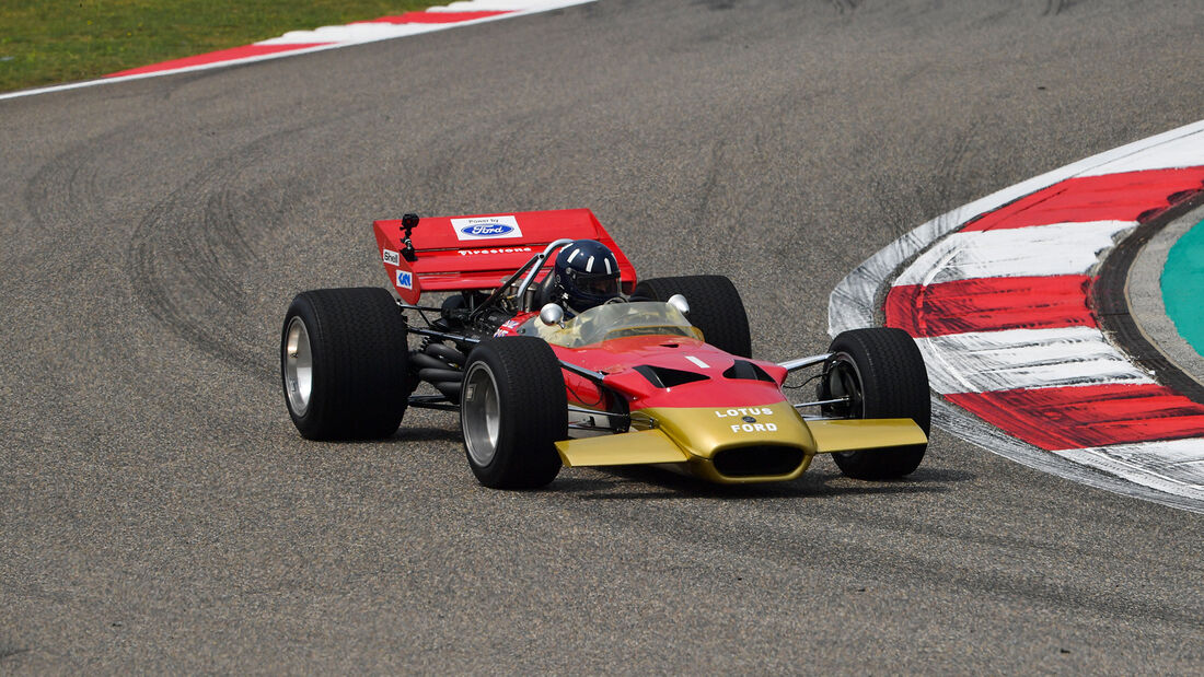 Damon Hill - Lotus 49 - GP China - Shanghai - Formel 1 - Freitag - 12.4.2019