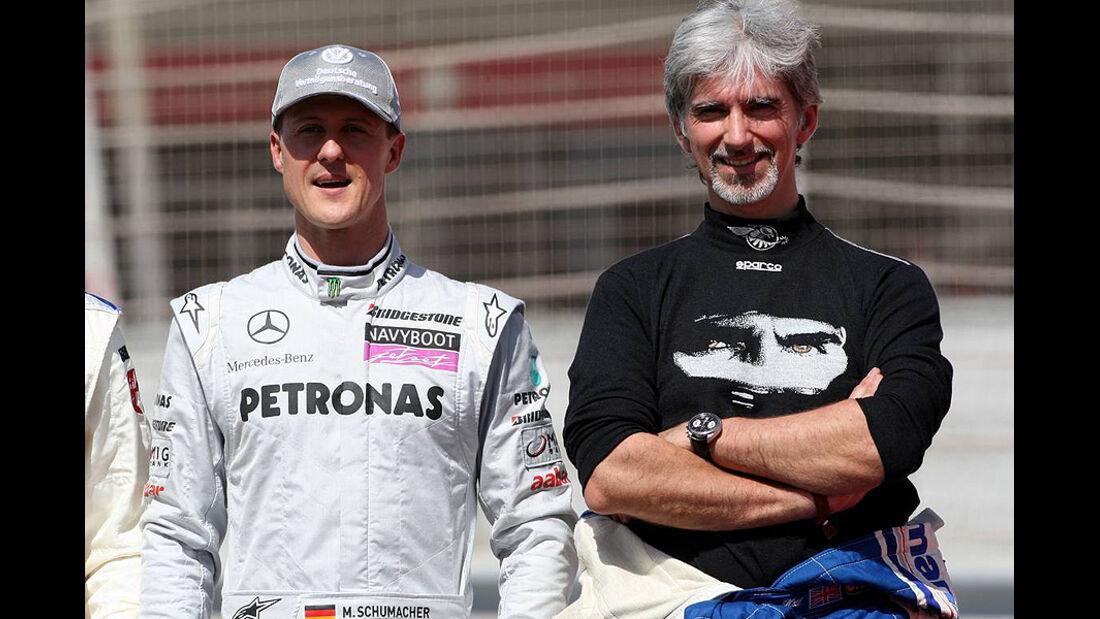 Damon Hill Michael Schumacher