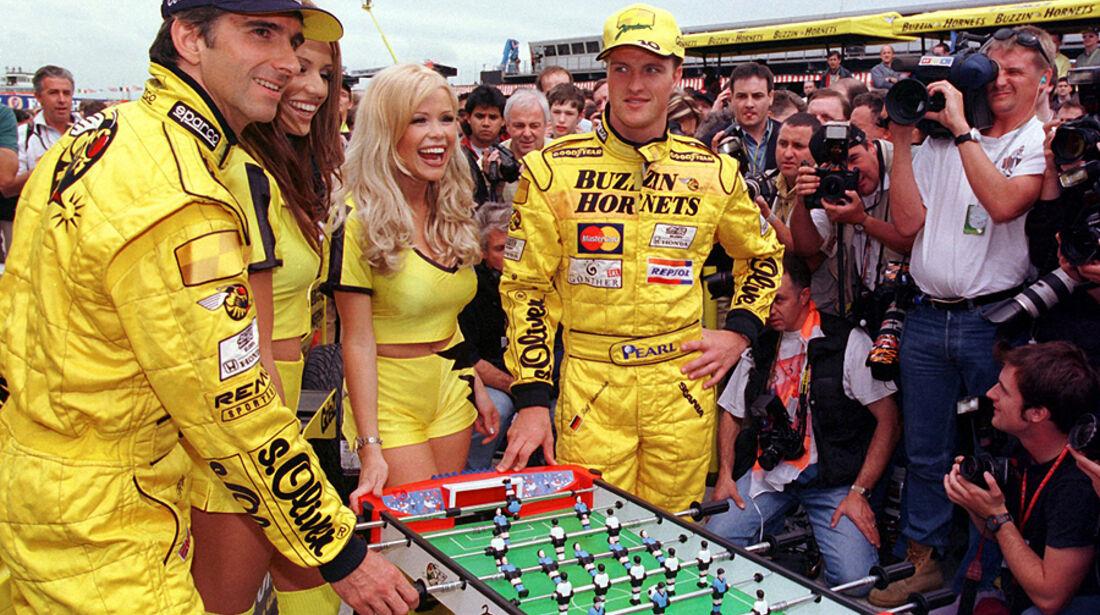 Damon Hill Ralf Schumacher