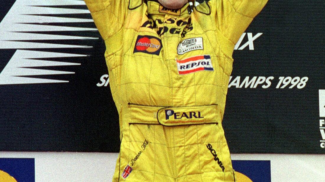 Damon Hill Sieg