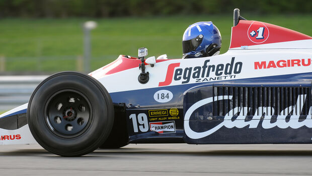 Damon Hill - Toleman TG184 - Donnington - 2004