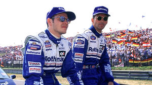 Damon Hill vs. Jacques Villeneuve - 1996