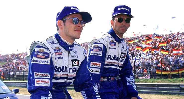 Damon Hill vs. Jacques Villeneuve - 1996