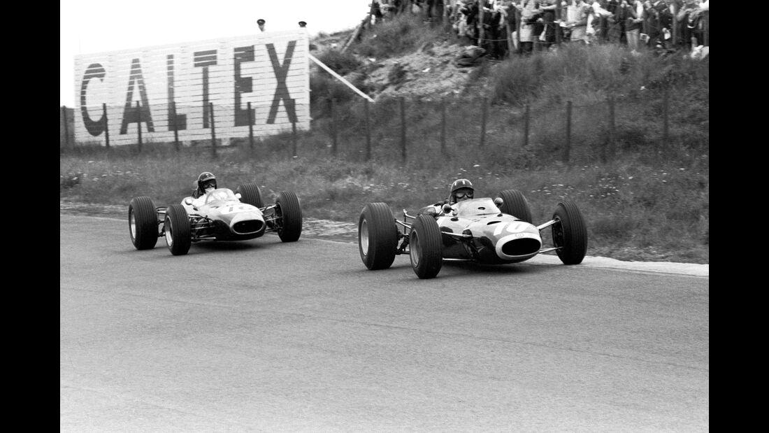 Dan Gurney - Brabham BT11 - GP Holland 1965 - Formel 1 - Graham Hill - BRM P261