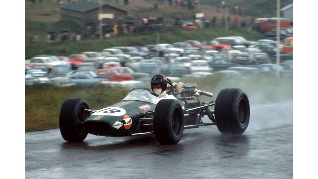 Dan Gurney - Brabham BT24 - GP Niederlande 1968 - Zandvoort