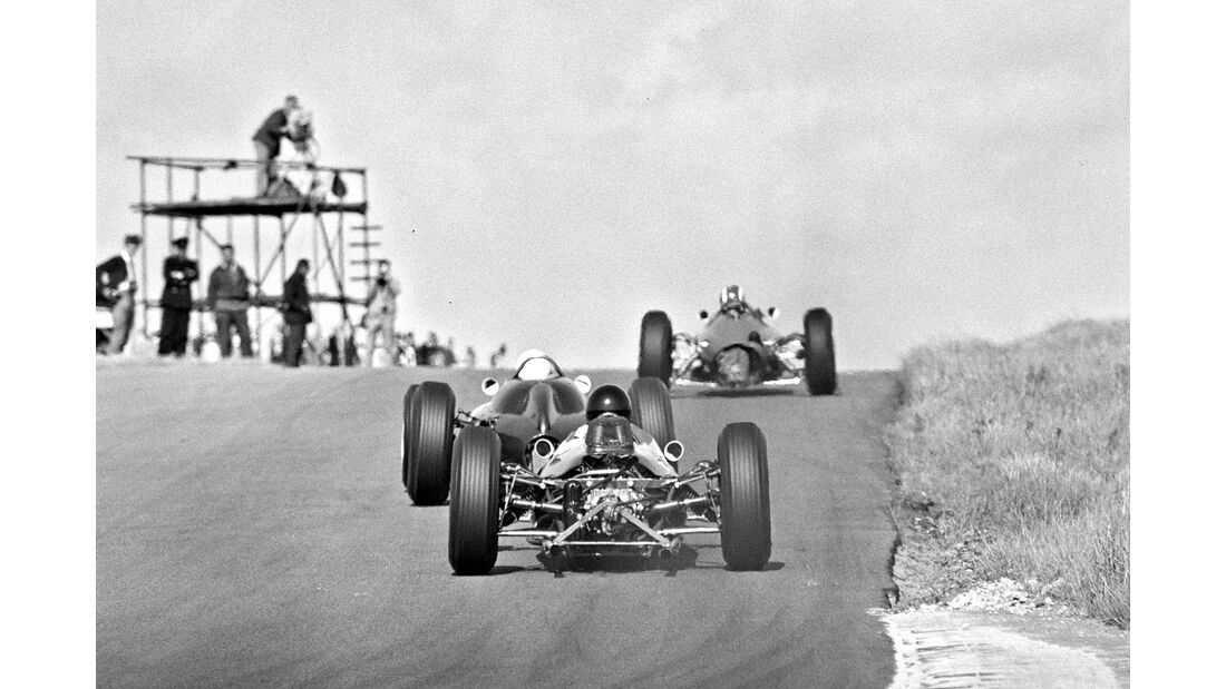 Dan Gurney - Brabham BT7 - GP Niederlande 1963 - Zandvoort