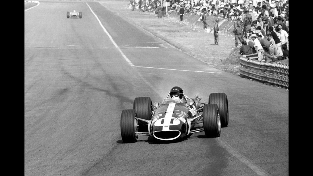 Dan Gurney -  Eagle T1G - GP Mexiko 1967
