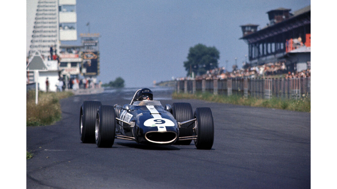 Dan Gurney - Eagle T1G-Weslake - Formel 1 - Nürburgring 1967 -
