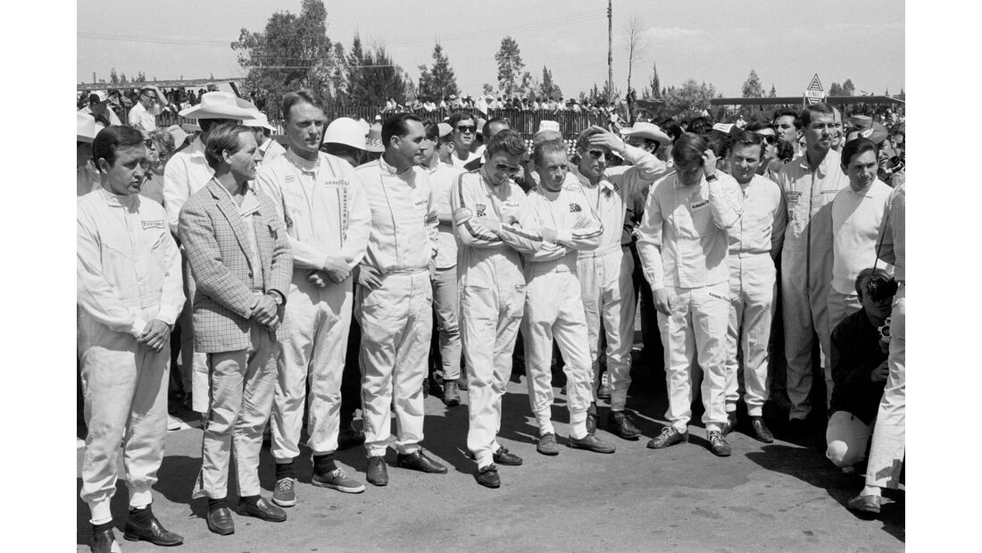 Dan Gurney - Eagle Weslake T1G - GP Monaco 1967 - Formel 1