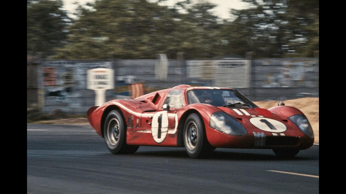 Dan Gurney - Ford GT40 - Le Mans 1967