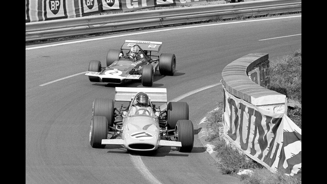 Dan Gurney - GP Frankreich 1970 - McLaren M14A - Formel 1