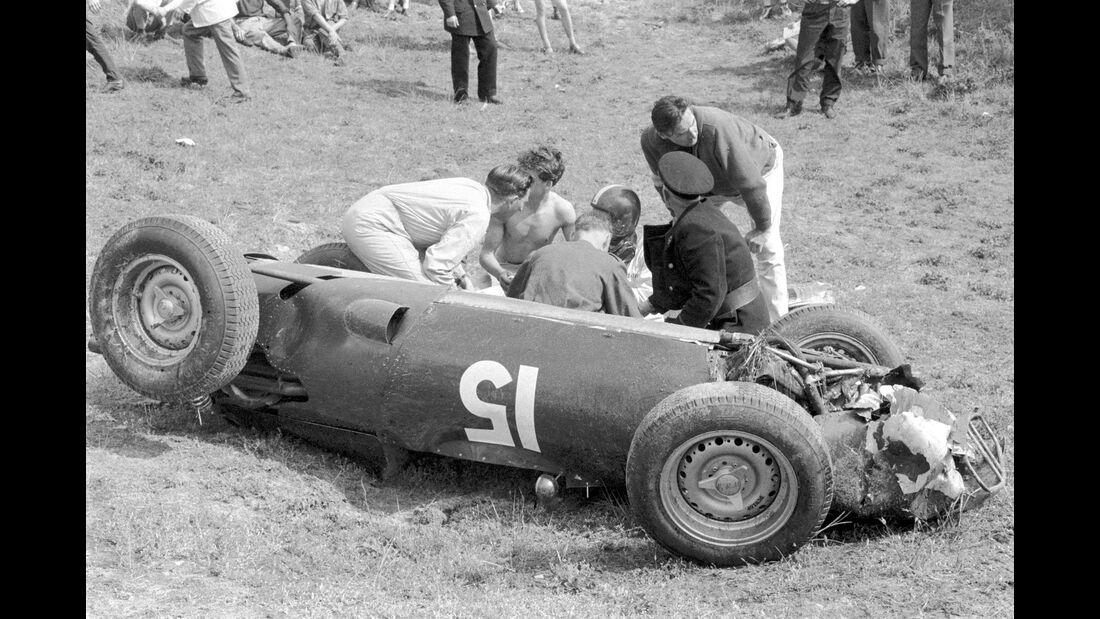 Dan Gurney - GP Holland 1960 - Zandvoort - B.R.M. P48 - Formel 1