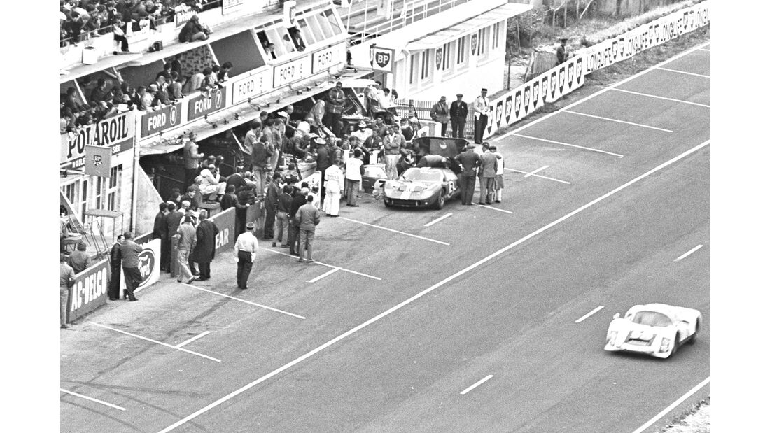 Dan Gurney - Le Mans 1966 - Ford GT
