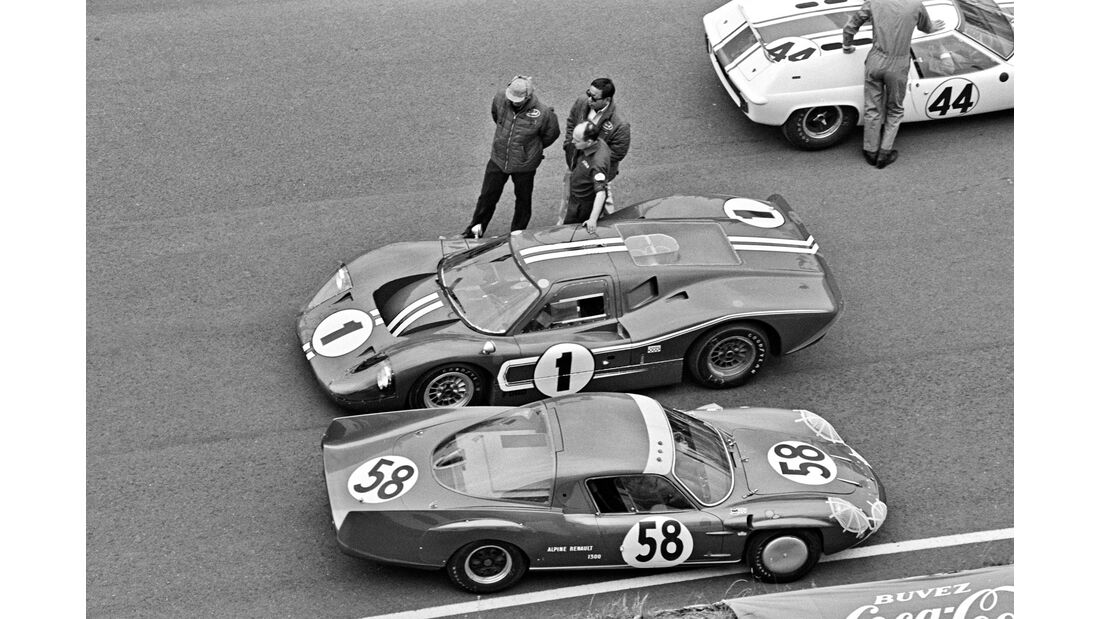 Dan Gurney - Le Mans 1967 - Ford GT40