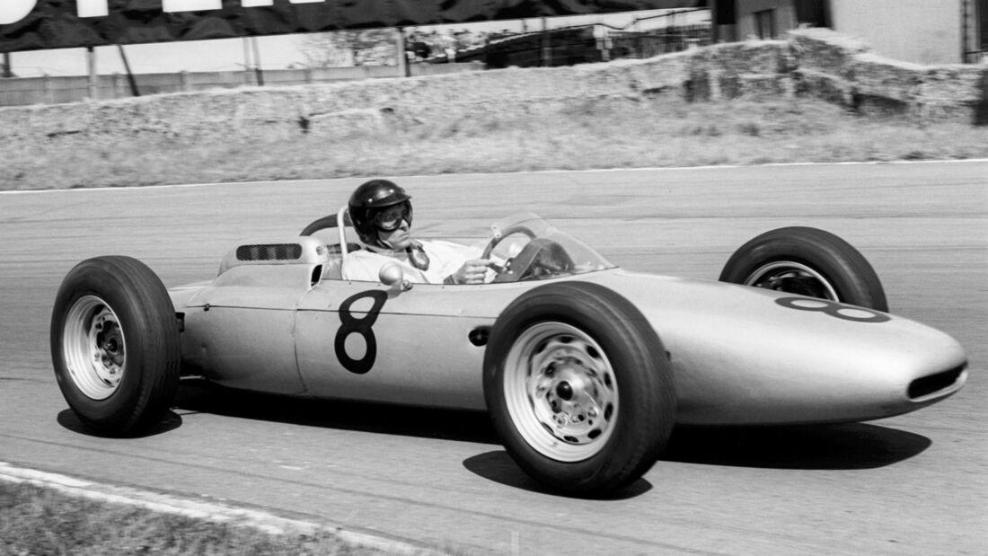 Dan Gurney - Porsche 804 - GP England 1962 - Aintree