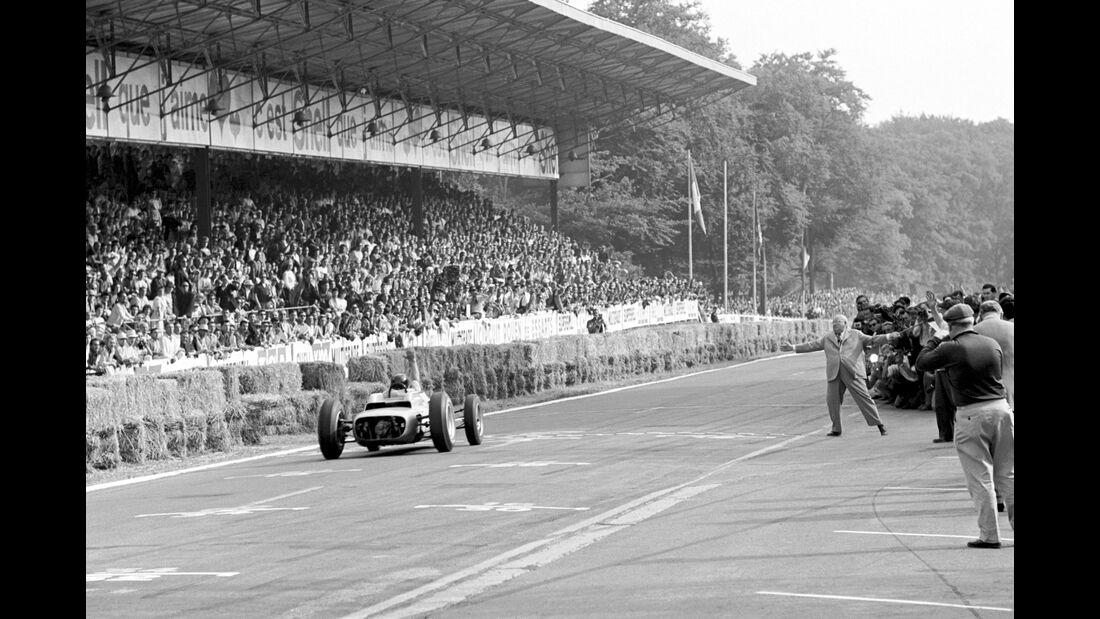 Dan Gurney - Porsche 804 - GP Frankreich 1962 - Rouen