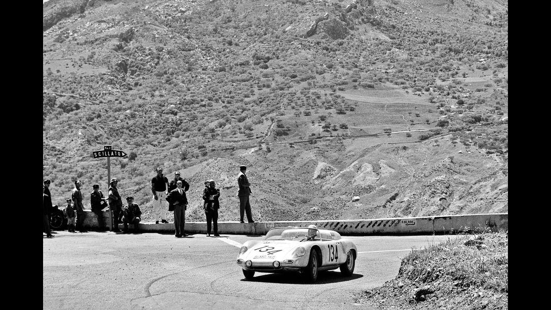 Dan Gurney - Targa Floria 1961 - Bonnier-Porsche