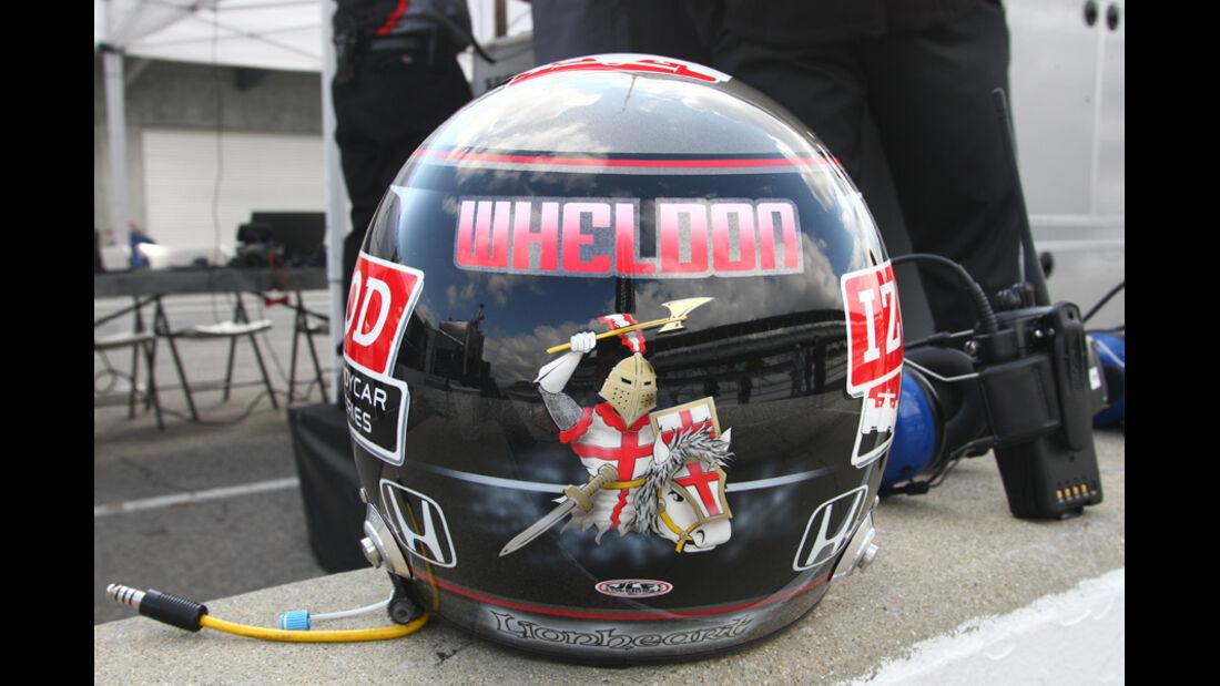 Dan Wheldon Helm 2011
