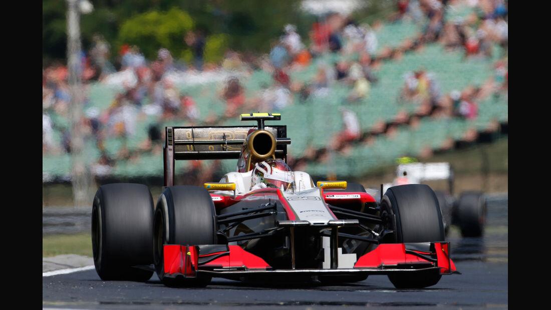 Dani Clos - HRT - Formel 1 - GP Ungarn - Budapest - 27. Juli 2012