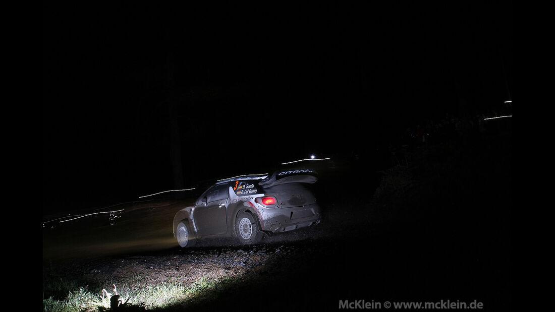 Dani Sordo - Citroen - Rallye GB 2013