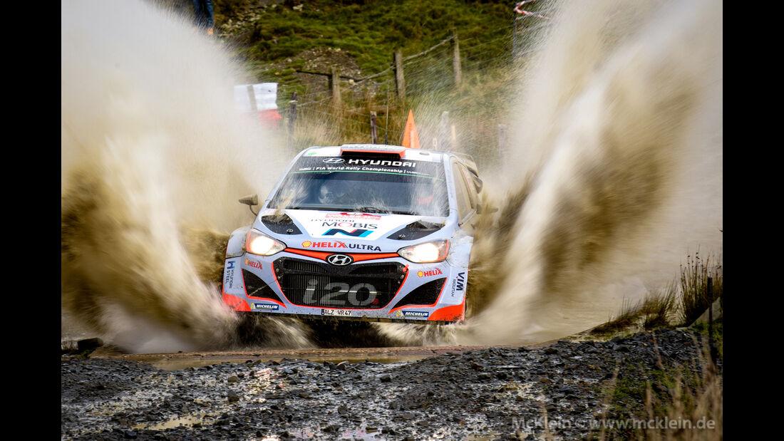 Dani Sordo - Rallye GB 2015