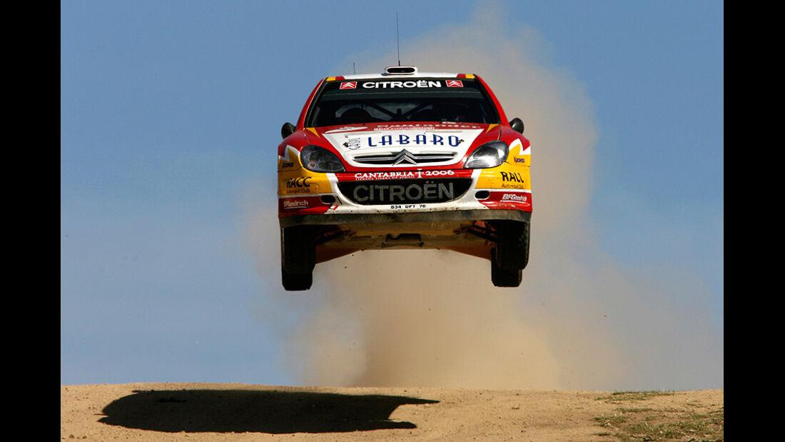 Dani Sordo, Rallye Sardinien 2006, Rallye-Sprünge