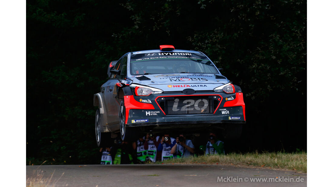 Dani Sordo - WRC - Rallye Deutschland 2016
