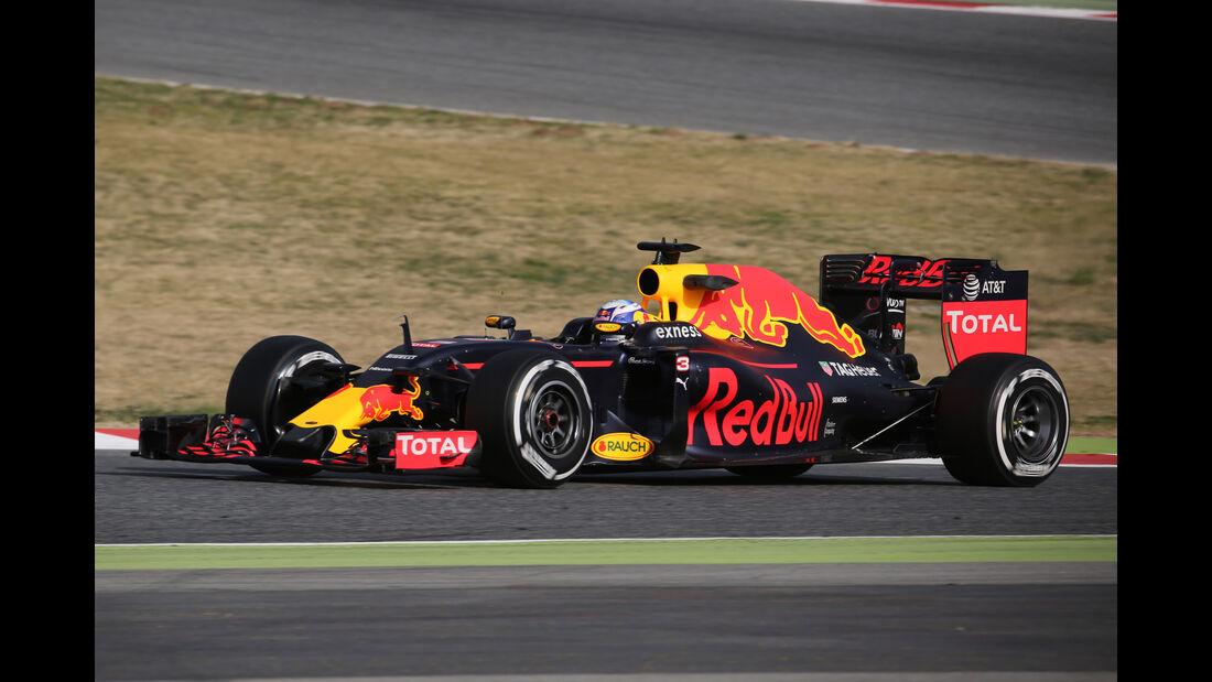 Danie Ricciardo - Red Bull - Formel 1-Test - Barcelona - 23. Februar 2016