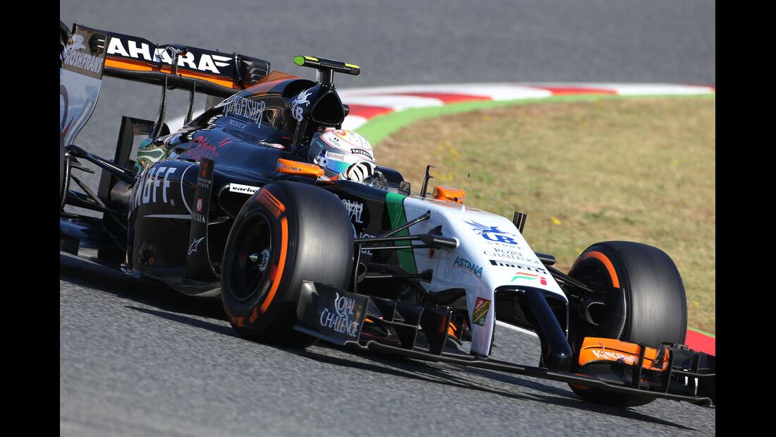 Daniel Juncadella - Force India - Barcelona - F1 Test 2 - 14. Mai 2014