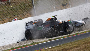 Daniel Juncadella - Force India - Barcelona - F1 Test 2 - 14. Mai 2014