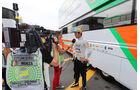 Daniel Juncadella - Force India  - Formel 1 - GP Italien - 5. September 2014