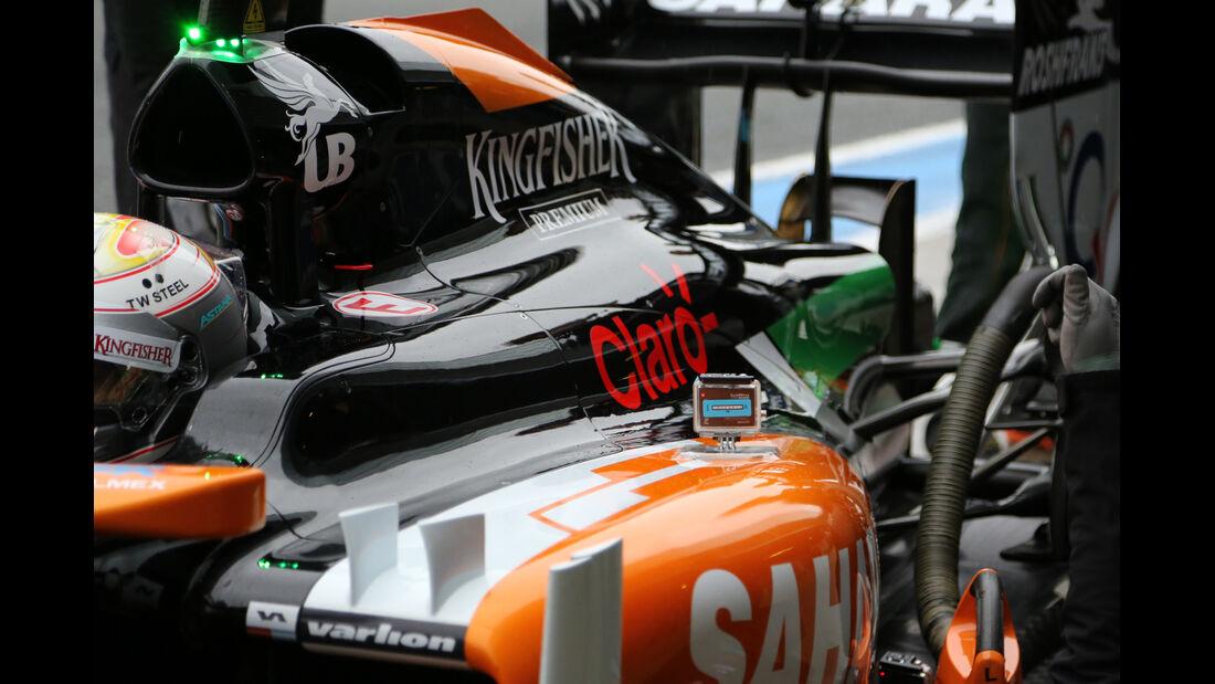 Daniel Juncadella - Force India - Formel 1 - Jerez - Test - 31. Januar 2014