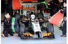 Daniel Juncadella - Force India - Formel 1 - Silverstone-Test - 9. Juli 2014