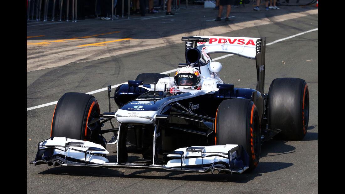 Daniel Juncadella - Williams - Young Driver Test - Silverstone - 17. Juli 2013