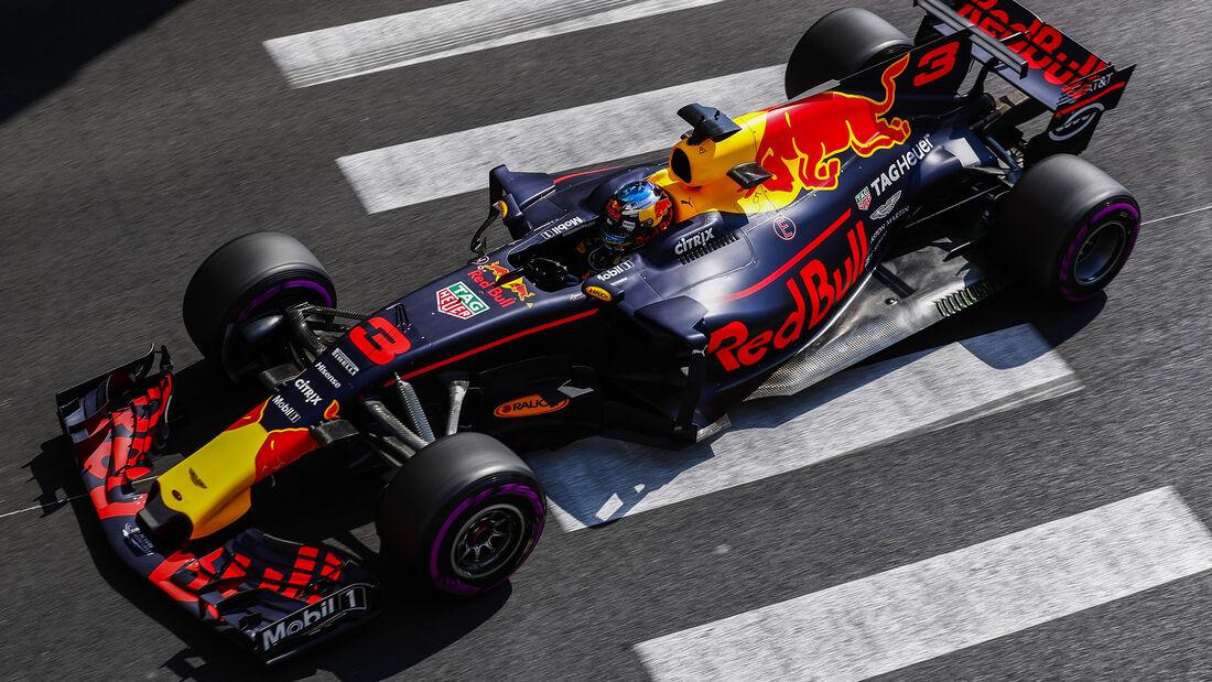 Daniel Ricciarado - Red Bull - Formel 1 - GP Monaco - 25. Mai 2017