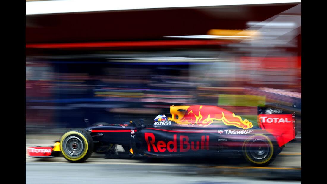 Daniel Ricciarado - Red Bull - Formel 1 - Test - Barcelona - 2. März 2016