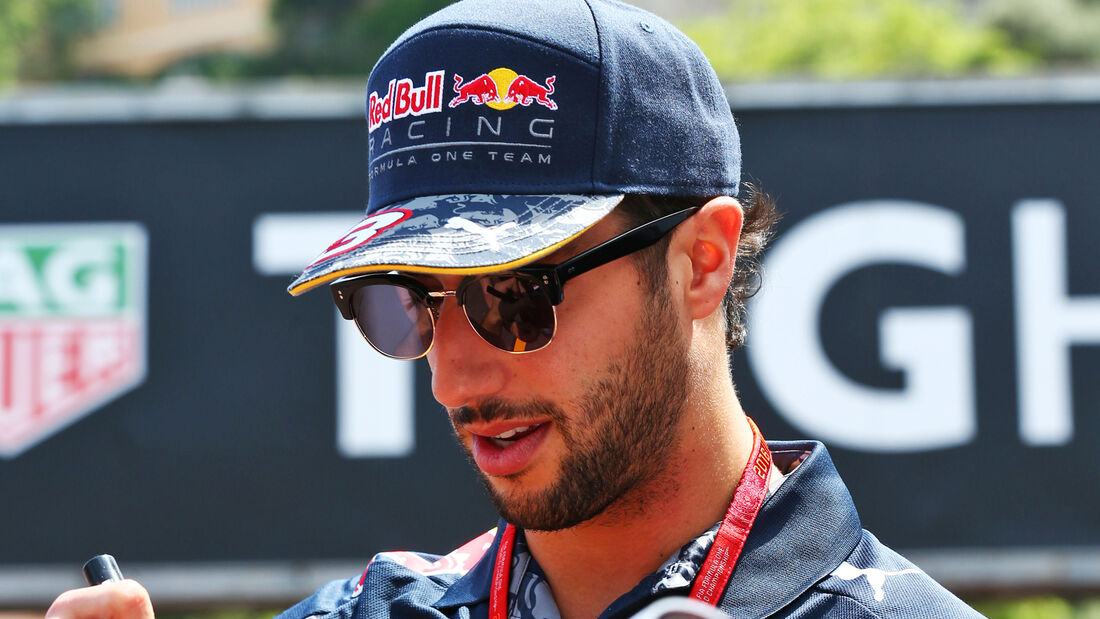 Daniel Ricciarco - Red Bull - GP Monaco 2016