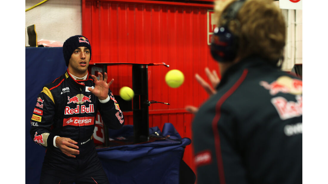 Daniel Ricciardo - Barcelona F1 Test 2013