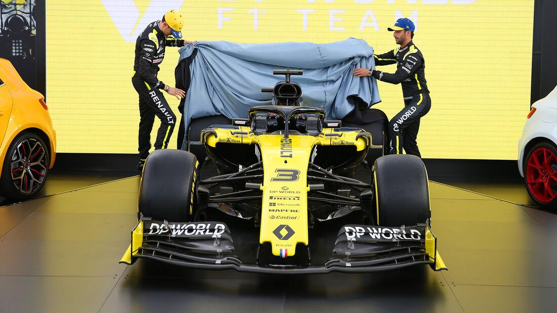 Daniel Ricciardo & Esteban Ocon - Renault - Formel 1 - GP Australien - Melbourne - 11. März 2020